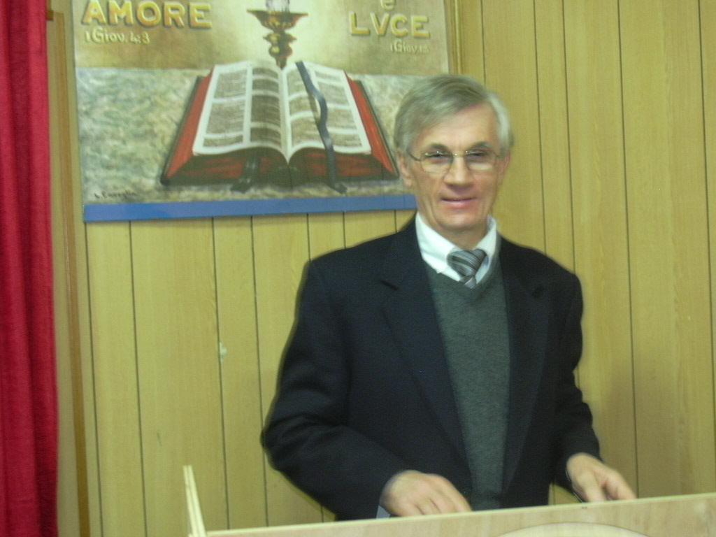 Frat. R. Giancarlo ( Resp. della chiesa )